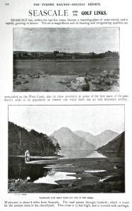 Tours through Lakeland 1900 - Seascale