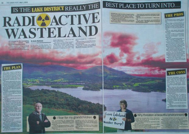 IS THE LAKE DISTRICT REALLY THE BEST PLACE TO TURN INTO A RADIOACTIVE WASTELAND