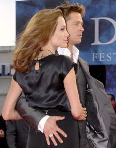 Brad Pitt and Angelina Jolie (wiki image)