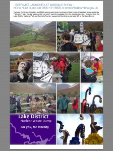 Beer Mat Launched at Wasdale Show
