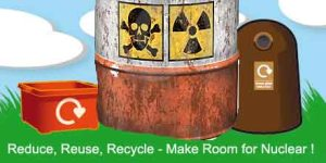 Reduce, Reuse, Recycle, Make Room for Nuclear!