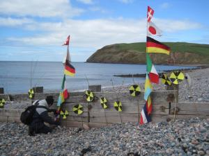 St Bees radioactive particles