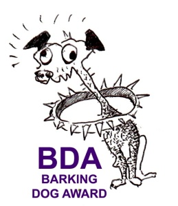 Barking Dog Award - Watch Dog that Doesn't Bark / Barks Madly