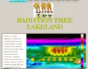 Radiation Free Lakeland - new website