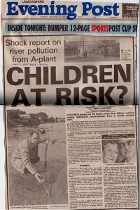 Lancashire Evening Post - Children at Risk? Springfields Nuclear Plant