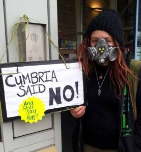 Cumbria Said (and still say) NO!