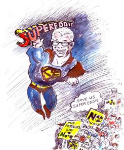Super Eddie Saves Cumbria from Nukiller Dump