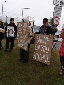 Shame on You Sellafield - Free the Deer!