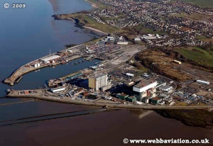 Heysham Nuclear Plant from the air