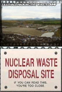 Lillyhall Nuclear Waste Disposal Site - If you can read this you are too close
