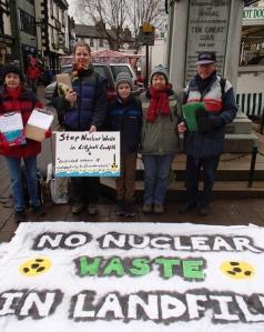 NO Radioactive Landfill - Kendal