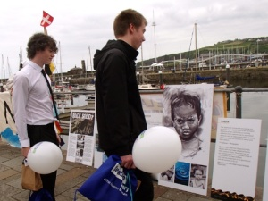 Looking at the Alternative Sellafield Story outside the Beacon- 30th May 2014