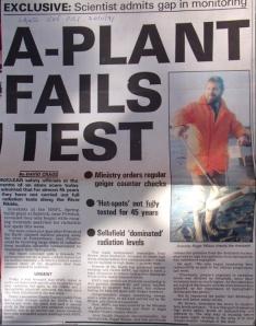 A-Plant Fails Test, Springfields- LEP 20:11:91