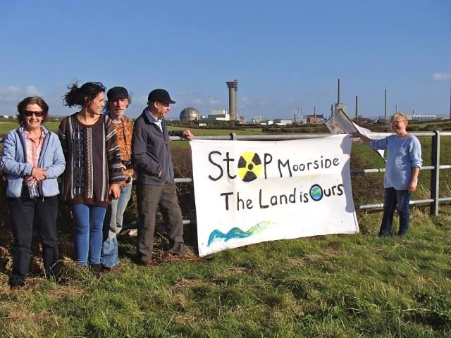 STOP MOORSIDE- The Land is OURS