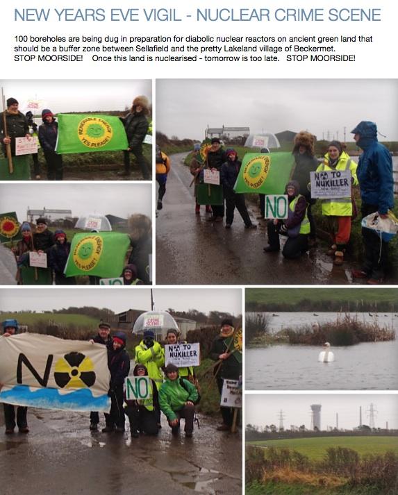 New Years Eve Vigil, Nuclear Crime Scene