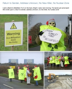 Return to Sender! Nuclear Waste from Hinkley to Sellafield