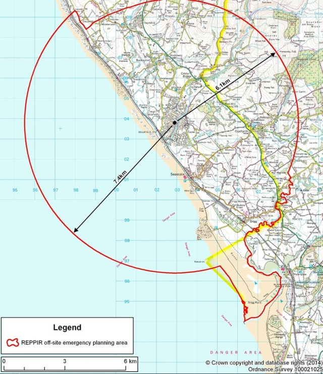 New Exclusion Zone for Sellafield Accident