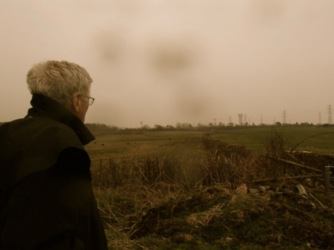 "Arnie Gundersen Looking Out over ""Moorside"" Beckermet"