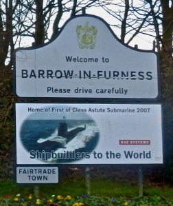 Home of Trident- Barrow in Furness