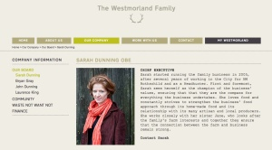 The Westmorland Family