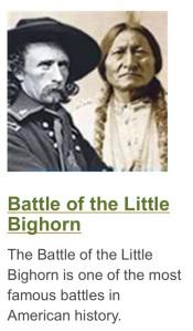 Custer Sitting Bull Little Big Horn NPS