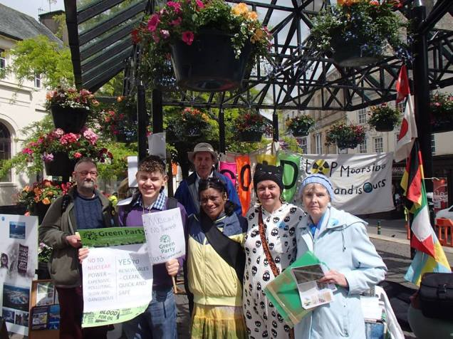 #StopMoorside in Kendal today -  Europe's biggest nuclear development - Join the Resistance!