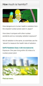 "0.09 microsieverts ""safe radiation dose"" Exposure within 50 miles of  nuclear power plant"
