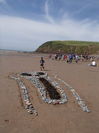 Don't Worry, Be Happy! Radioactive Particles at St Bees