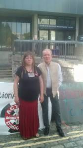 me&Theo_outside_court