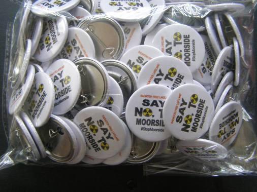 #StopMoorside Pin Badge