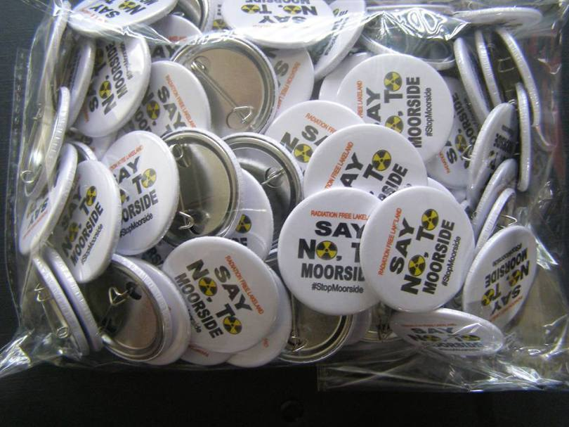 #StopMoorside Pin Badge