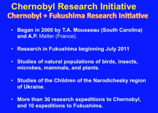 Biological Consequences of Nuclear Disasters: From Chernobyl to Fukushima, LOC-Mousseau Chernobyl Research Initiative A
