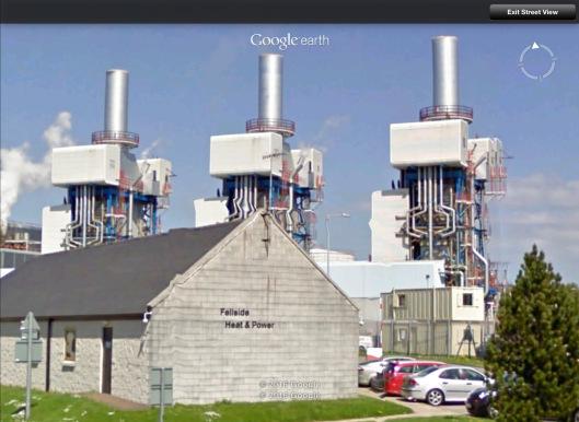 Fellside Gas Generating Station near Sellafield