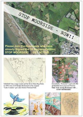 Stop Moorside A5 leaflet (front)