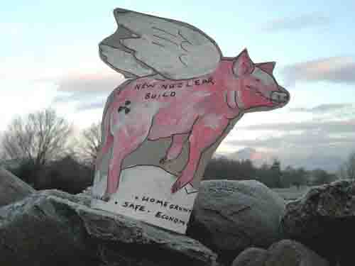 Renewable Nuclear Flying Pig