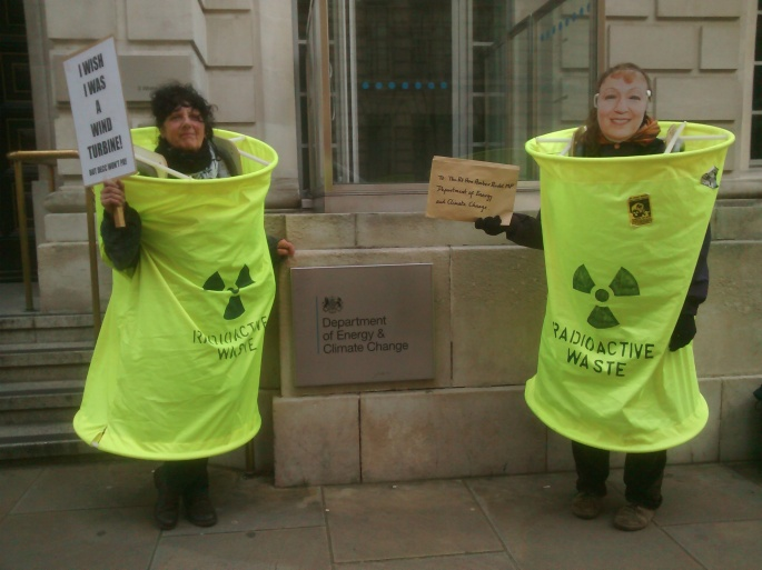 Deliver of Letter to DECC
