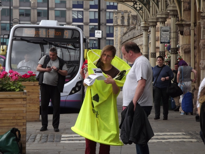 Day of Action against Nuclear Trains - Temple Meads 027