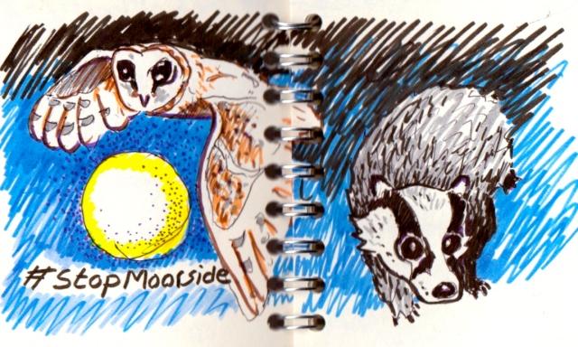 #StopMoorside:BarnOwl&Badger