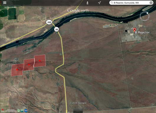 Hanford area fires August 13 2016  reactor B