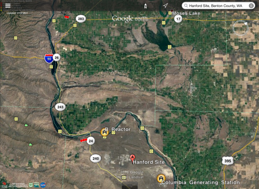 Hanford area fires August 13 2016