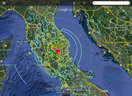 August 24 2016 Earthquake Central Italy