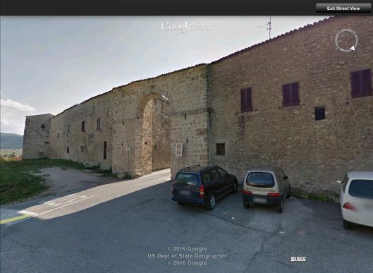 Norcia Italy wall
