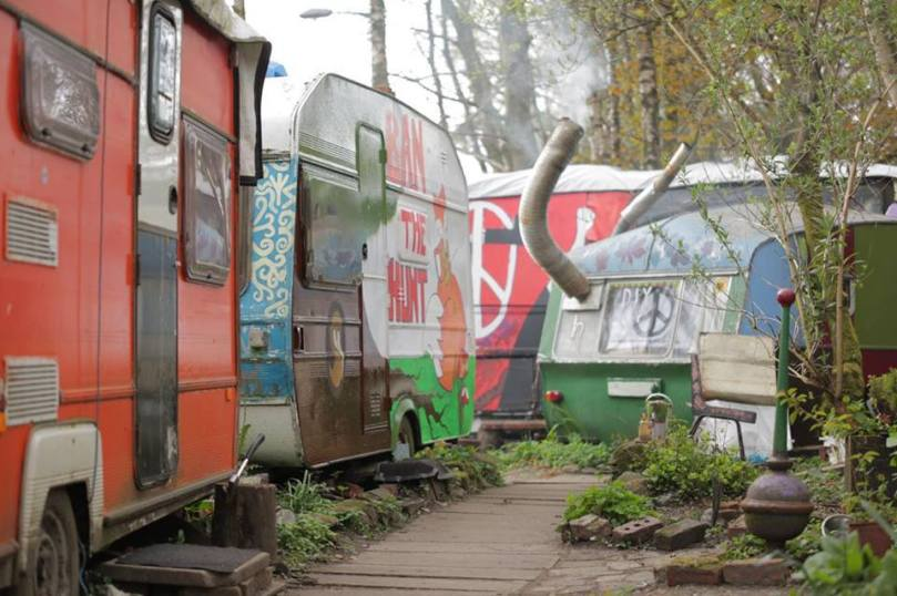 Well loved, but nothing stays young forever.  Help us to expand our collection of colorful caravans!