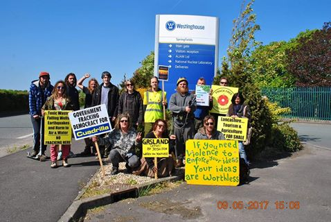 Blackpool and Fylde Community Protection Camp @Springfields 9.5.17.jpg