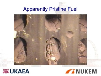 "Apparently ""Pristine"" Fuel"