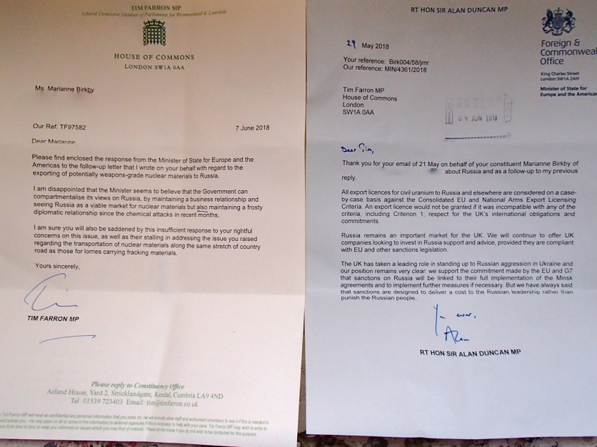Export of HEX to Russia Letter to Tim Farron from FO June 7th 18.jpg