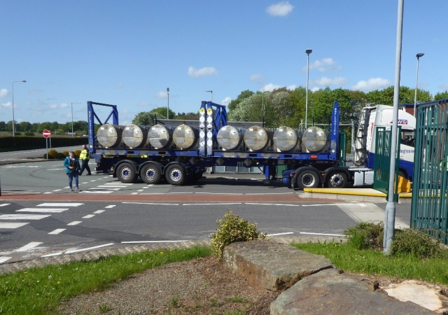 Uranium Hexaflouride Lorry