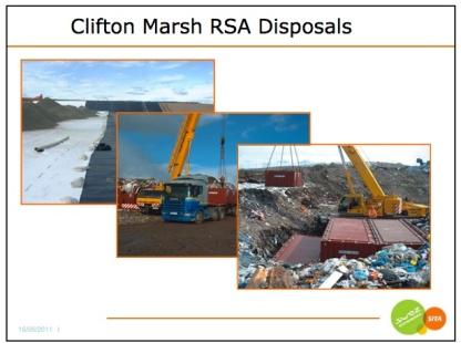 Clifton Marsh Radioactive Dump for Springfields Nuclear Fuels and Capenhurst Uranium Enrichment